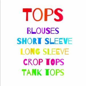 Tops - ✨✨✨✨✨